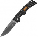 Нож складной GERBER Bear Grylls Compact Scout, Drop Point, Serrated 31 000760