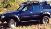 Расширители колесных арок Lapter Toyota Land Cruiser 80 (80 мм) (TLC-80)